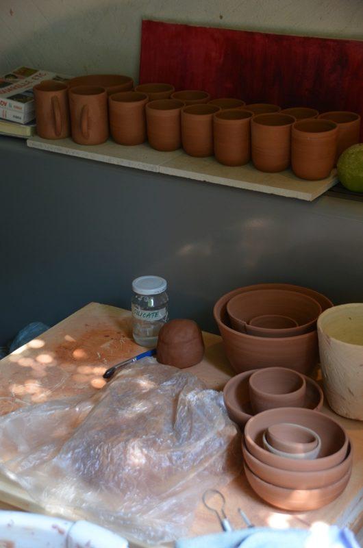 série céramique utilitaire